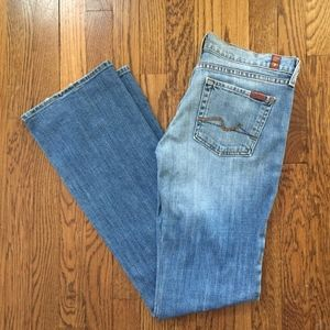 7 for All Mankind Bodycut style - bootcut leg size